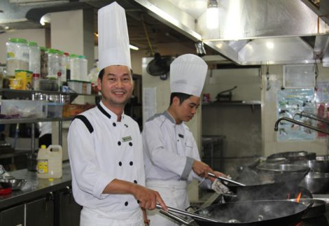Anh Phạm Đăng Hiền- Phó tổng Bếp trưởng KS Hải Dương