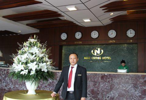 Anh Bùi Văn Tuấn- Trợ lý Giám đốc Kinh doanh khách sạn Nam Cường Hải Dương